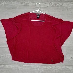 New York & Company women's red blouse size M